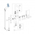 spare parts LAPETEK LINO-A, alumetallic