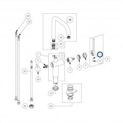 Aktiivihiilisuodatin + asennuskotelo (LAPETEK 200-M 50 cm)