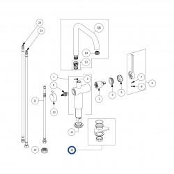 Aktiivihiilisuodatin + asennuskotelo (LAPETEK 200-M 60cm)