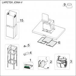 SPAREPARTS JONA-V