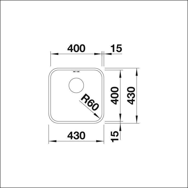 SUPRA 400-U, w/o pop-up