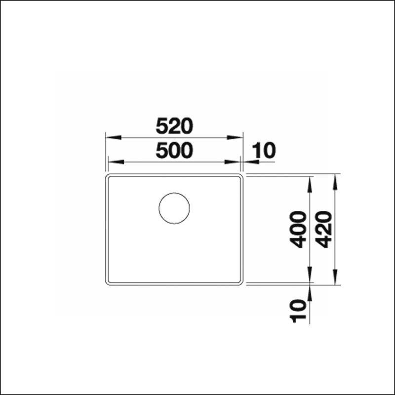 BLANCO ATTIKA XL 60