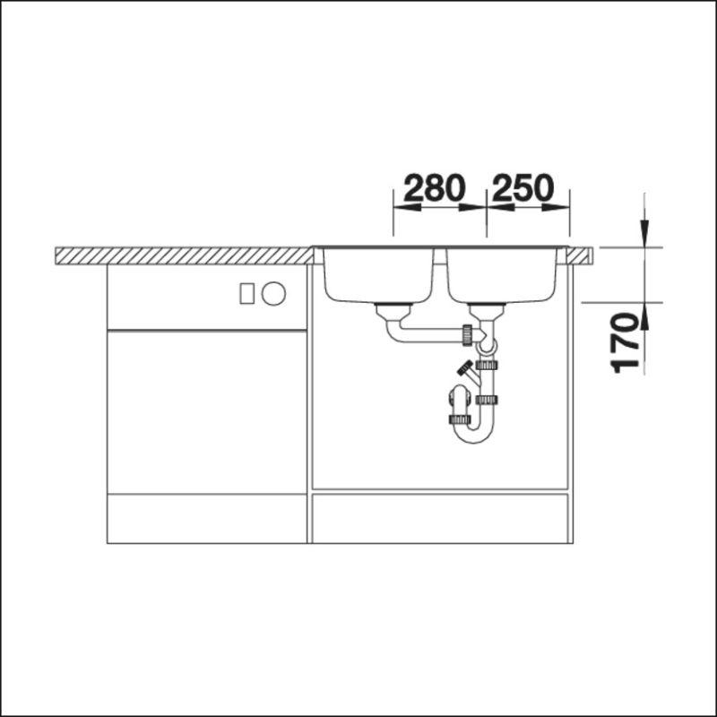 BLANCO TIPO 8 Compact