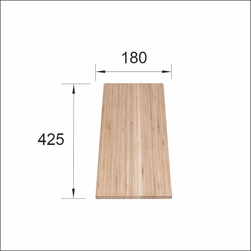 Chopping board (Luna-X), bambu