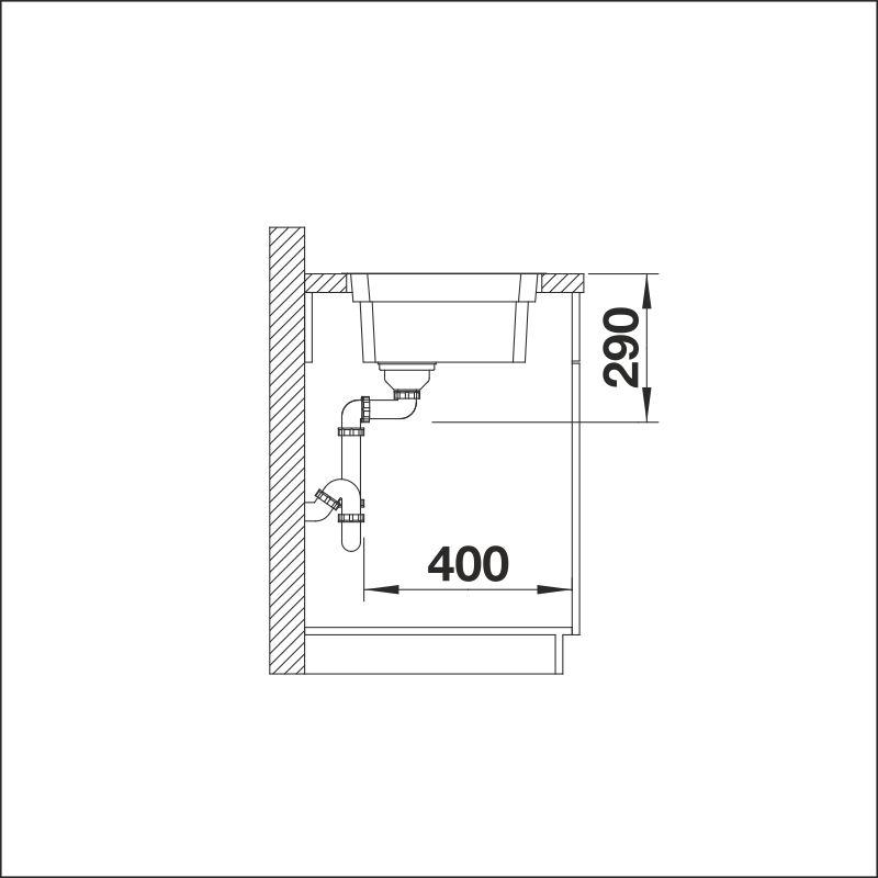BLANCO ETAGON 500-IFN