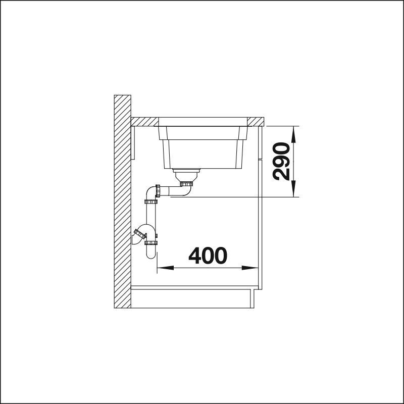 BLANCO ETAGON 500-U