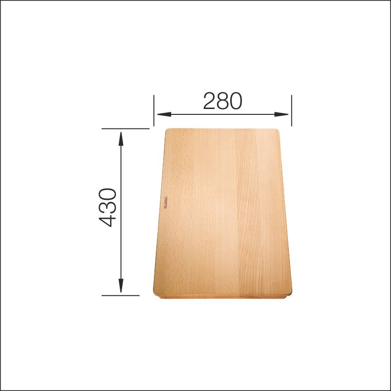 Cutting board (Subline 500-U, 350/150-U)