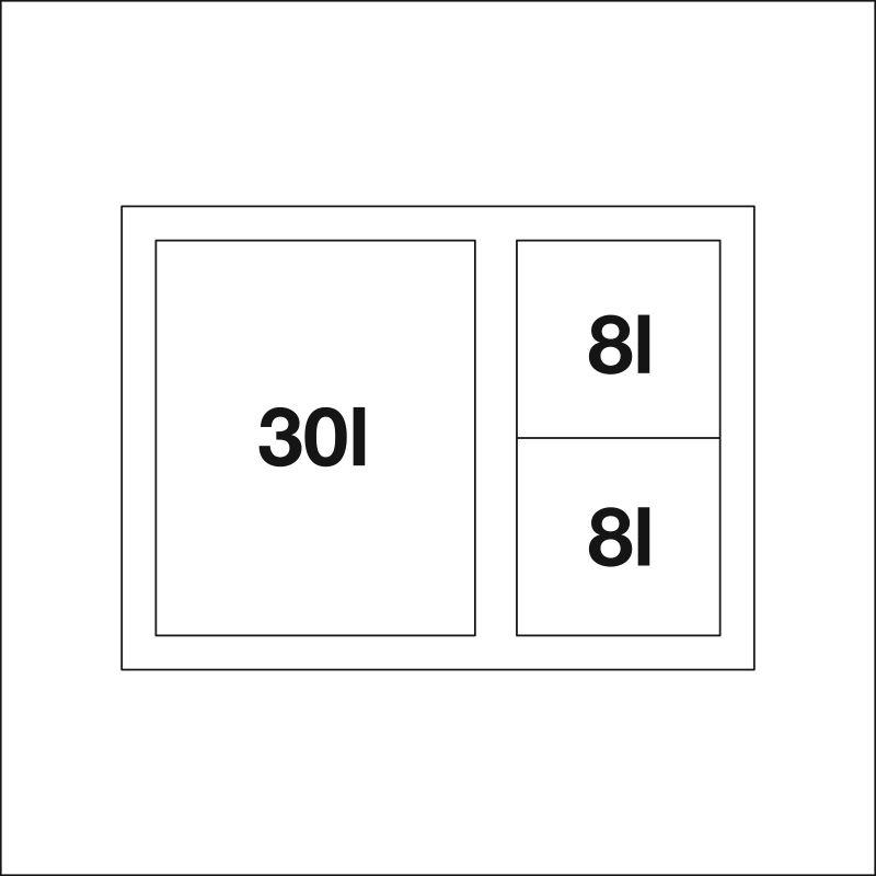 BLANCO SELECT XL 60/3
