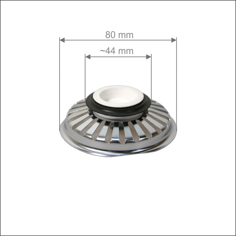 Basket strainer 3,5""