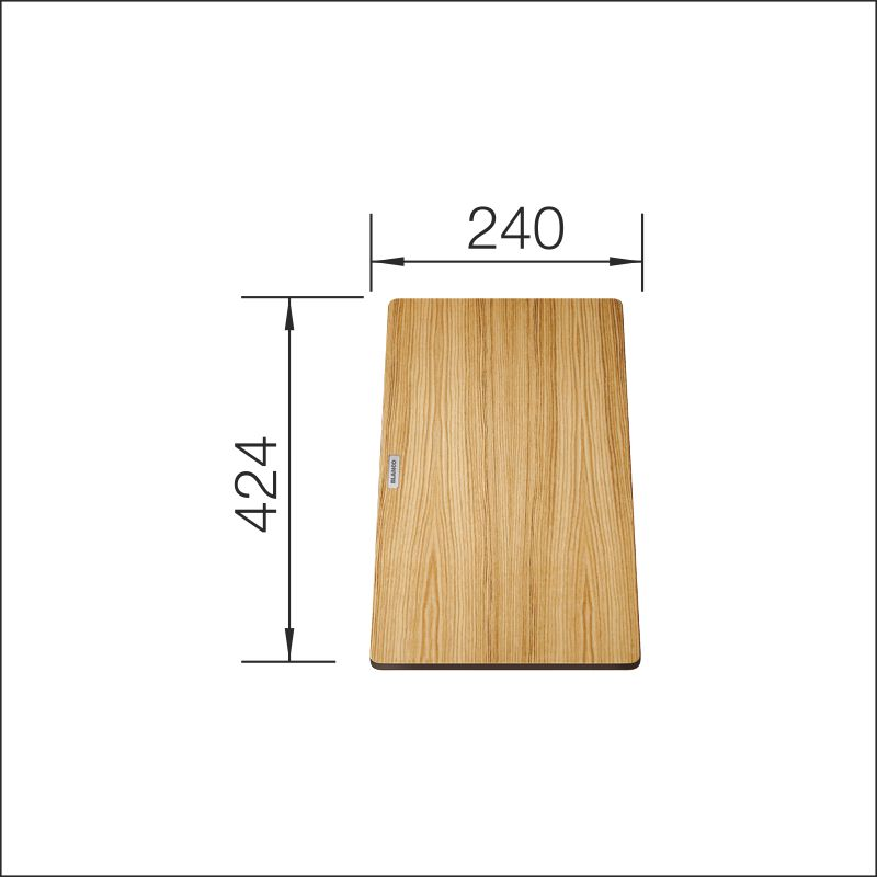 Chopping board (Andano, Subline), ash compound