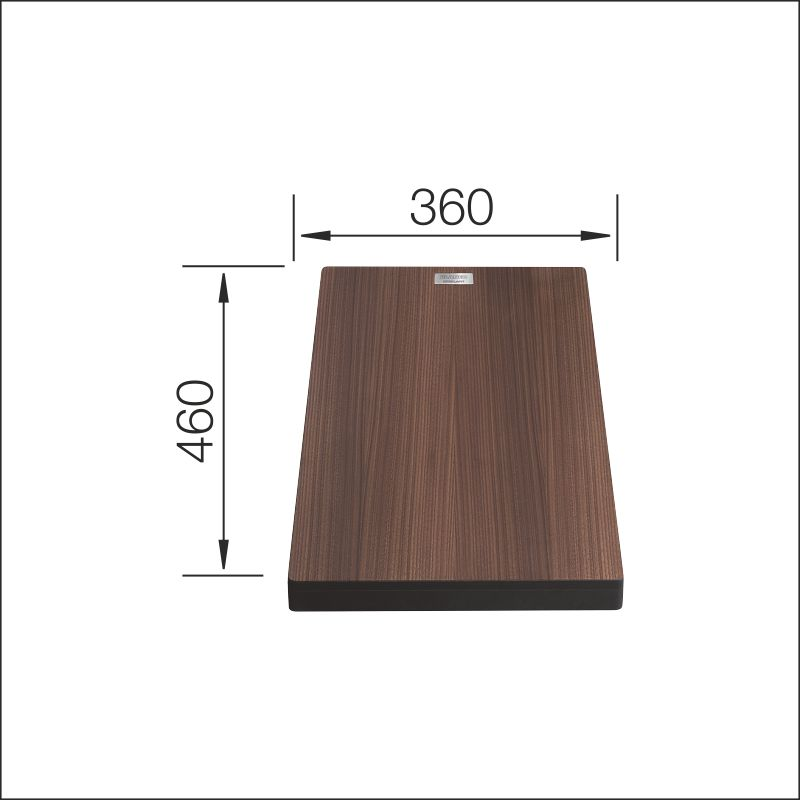 Chopping board, walnut compound (Attika)