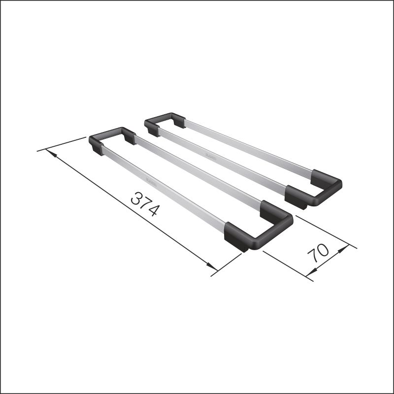 Etagon rails (Etagon ceramic)