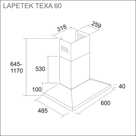 LAPETEK TEXA 60, s/s