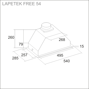 LAPETEK FREE 54, s/s