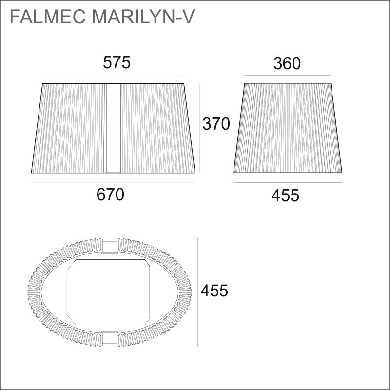 FALMEC MARILYN-V E.ion, valkoinen