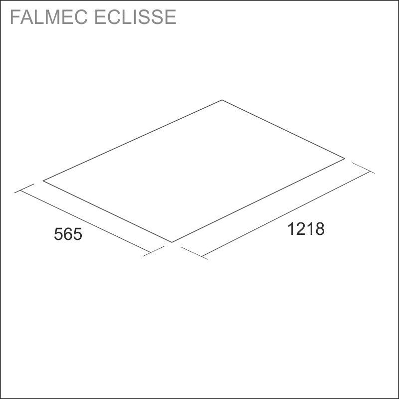 FALMEC ECLISSE, white glass