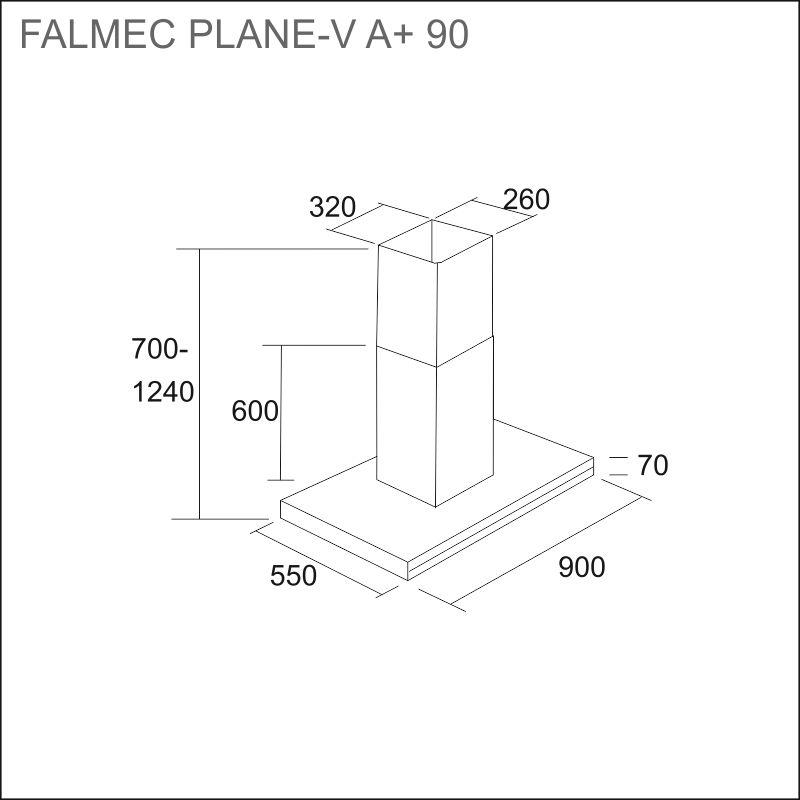 FALMEC PLANE-V 90 A+, rst