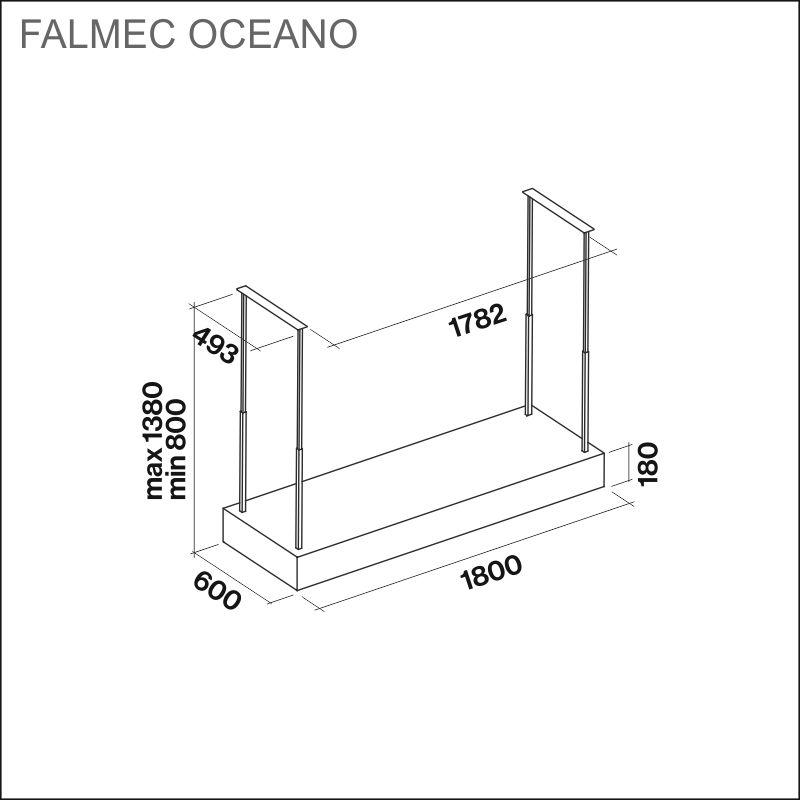 FALMEC OCEANO E.ion, saarekemalli