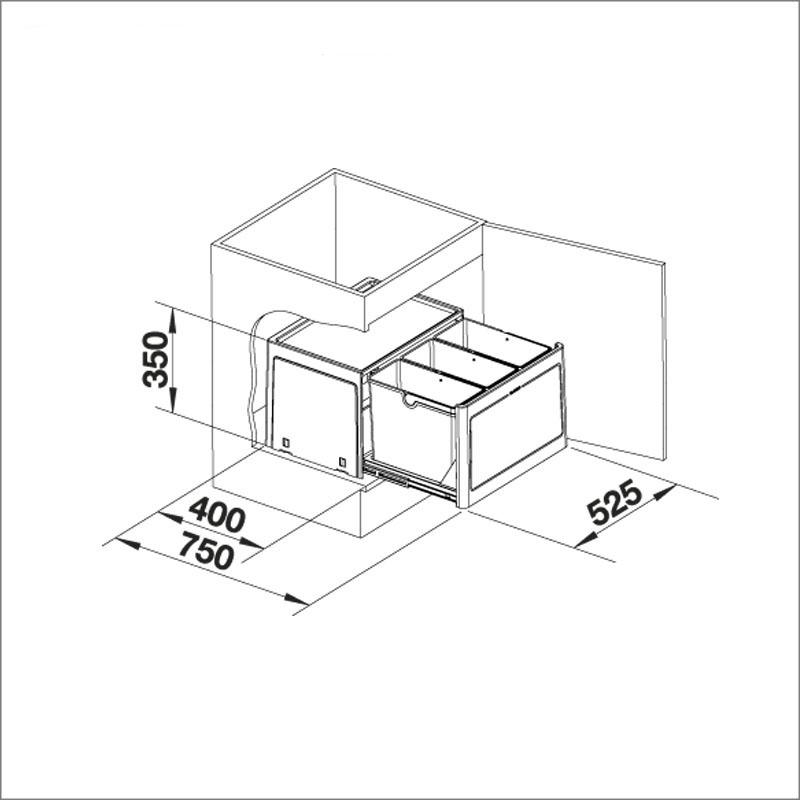 BLANCO SELECT BOTTON PRO 60
