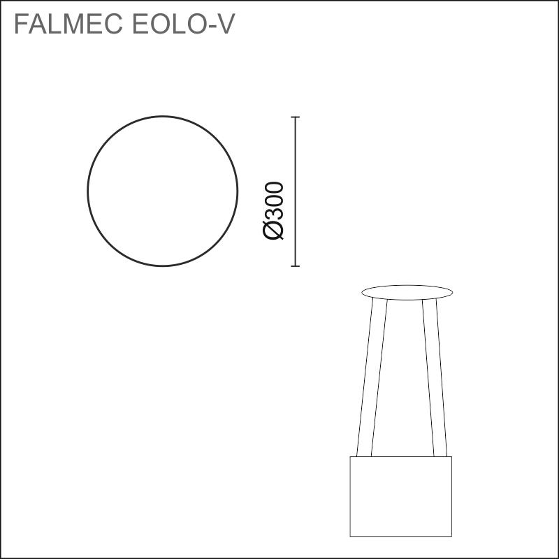 FALMEC EOLO-V E.ion, saarekemalli