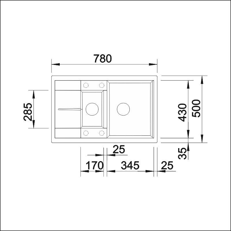 BLANCO METRA 6 S Compact