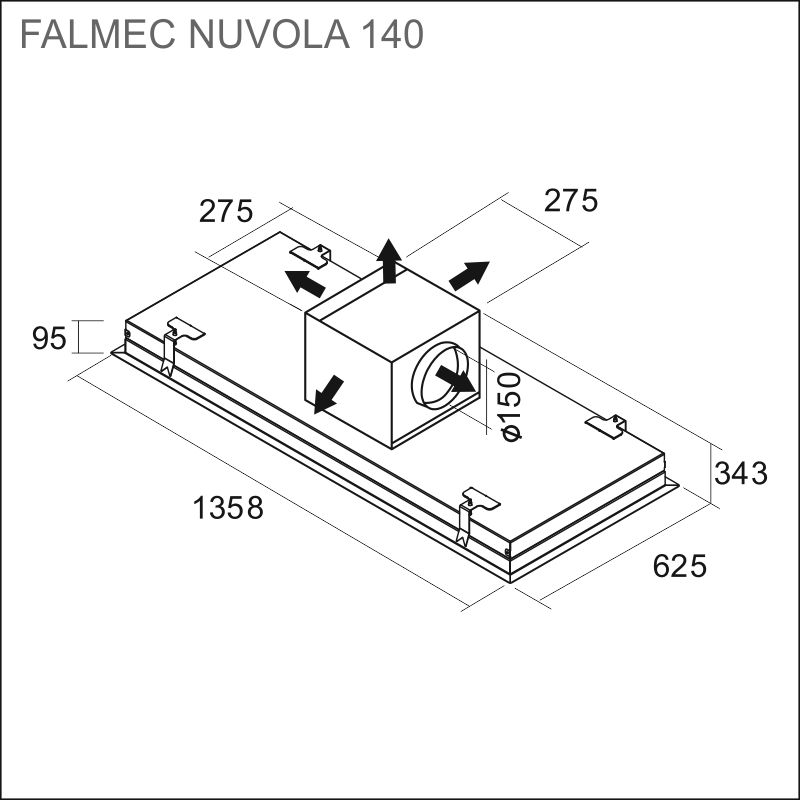 FALMEC NUVOLA 140