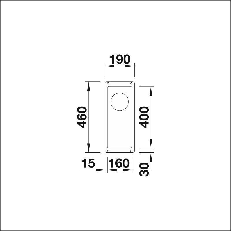 BLANCO SUBLINE 160-U InFino