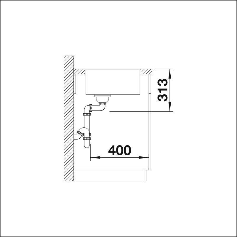 BLANCO SUBLINE 320-F InFino