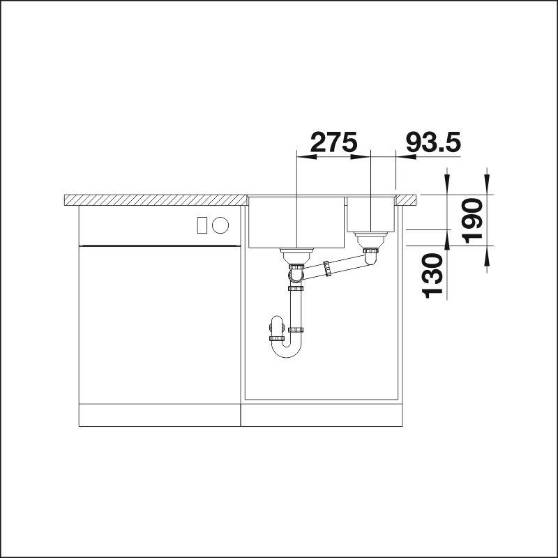 SUBLINE 340/160-F, Silgranit®