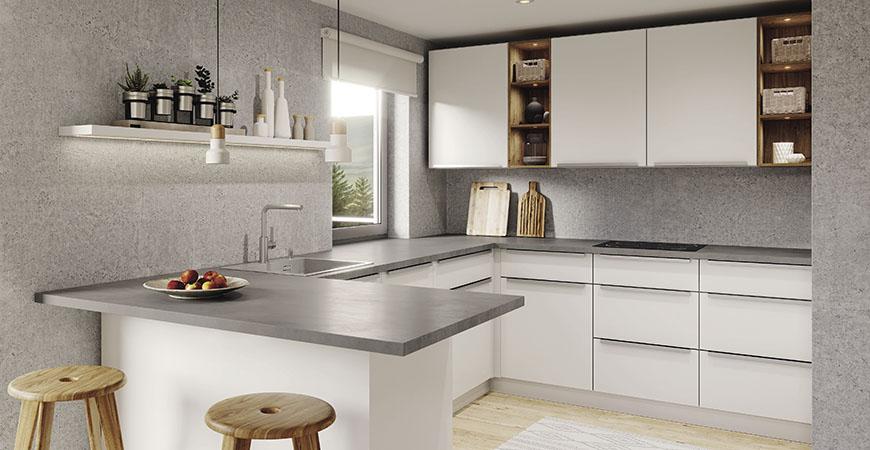 betonitaso keittiöallas