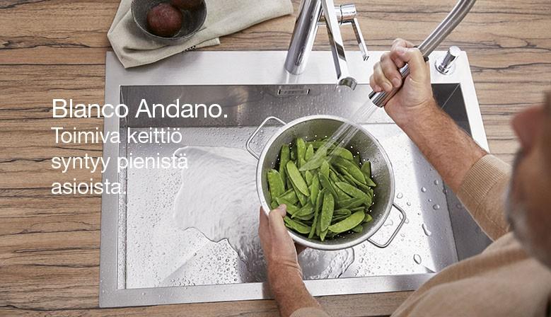 Blanco Andano toimivuutta keittiöön