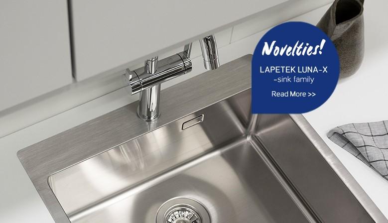 Lapetek Luna 500-IFA stainless steel